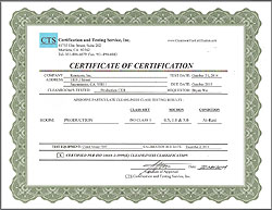 Los Angeles Data Recovery ISO Class 5 certified